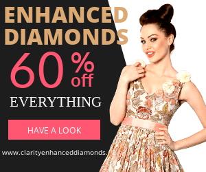 Learn about clarity enhanced diamonds and diamond treatments.